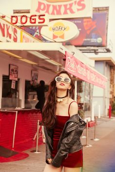 Suzy's Faces of Love Mini Album Pictures Kpop Girl Groups, Kpop Girls, Girl Outfits, Fashion Outfits, Red Outfits, Bae Suzy, Girls With Glasses, Korean Model, Korean Actresses