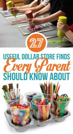 27 Useful Dollar Store Finds Every Parent Should Know About