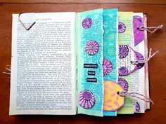 The Artistic Stamper Creative Team Blog: Distress Oxide Altered Book Pages by Angie Coomber
