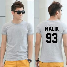 >> Click to Buy << New Men Women T shirt Zayn Malik 93 Back Letters Cotton Casual Funny Shirt For Lady Black White Gray Top Tees Hipster T-shirt #Affiliate