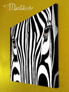 Zebra canvas acrylic painting by patrissaartiantart on original zebra acrylic painting on canvas 16x20 by mintbrush 7700 altavistaventures Images
