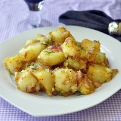 Warm Honey Dijon Potato Salad - Rock Recipes -The Best Food & Photos from my St. John's, Newfoundland Kitchen.