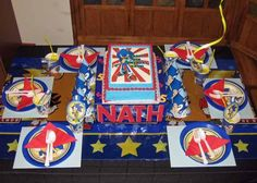sonic the hedgehog birthday party from 17 Birthday Party Ideas for Boys You Will Love - www.spaceshipsandlaserbeams.com