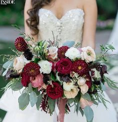 53 best Red & Ivory Wedding images on Pinterest | Bouquet, Bouquets ...