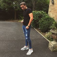 Super Skinny Jeans, Jeans Fit, Ripped Jeans, Fit Men, Free Uk, Mens Fitness, Sporty, Delivery, Guys