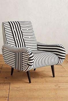 Striped Losange Chair