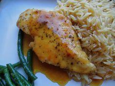 Stephanie Cooks: Lemon Honey Chicken