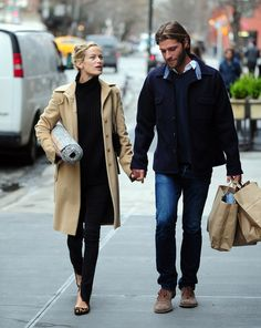 Simple weekend style. I already have a similar camel coat and leopard print flats.