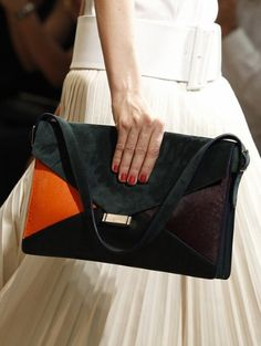 Chanel - Fashion Galleries -     CELINE    That Phoebe Philo knows a thing or two about making a hit collection, and her talents don't stop at clothes. This mulicoloured envelope bag will be seen dangling from only the chicest shoulders come spring.