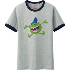 MEN PIXAR GRAPHIC SHORT SLEEVE T SHIRT Uniqlo, Pixar, Mens Tops, T Shirt, Sleeve, Clothes, Monsters, University, Type