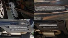 97-04 C5 Z06 Corvette Mesh Grille Chevy Complete Set. This is a Complete Set of for your C5 Corvette. What you will receiveis (1) Pair of cove mesh (2) Pair of fog and break mesh (3) Pair of rearfascia  All items come with surface Cleaners Detailed instruction. There is no drilling or any type ofpermanentadjustments to install. We pride our self in the creation of these mesh kits C5 Corvette Mesh is all we Create and Mastered so when you receiveyour item's you can expect a Perfect…
