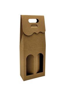 Pudełko z okienkiem na 2 piwa W60   Opakowania i kosze prezentowe Bottle Opener, Barware, Paper Board, Tumbler
