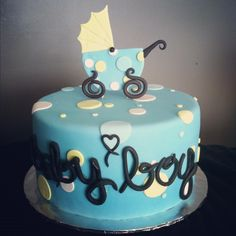 Baby shower cake that I made