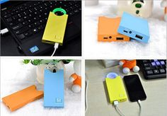 power bank with many colors and easy use