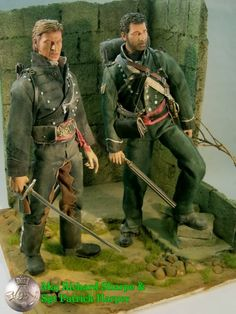 19th Cent. (Old West, ACW, Colonial Wars) Maj. Richard Sharpe & Sgt Patrick Harper - OSW: One Sixth Warrior Forum