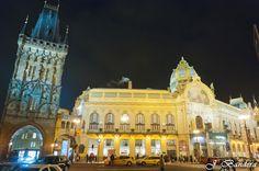 Las Fotografías de Bandera: La Torre de la Polvora en Praga