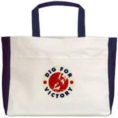 #digforvictory #bag £21/$27.69 www.creamtees.net #WWII #militaria