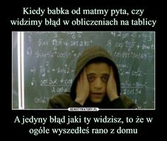 Funny Lyrics, Polish Memes, Funny Times, Quality Memes, School Memes, Wtf Funny, Sarcastic Humor, Best Memes, True Stories