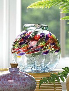 Aromatherapy Diffuser: Art Glass Diffuser | Gardener's Supply gardeners.com