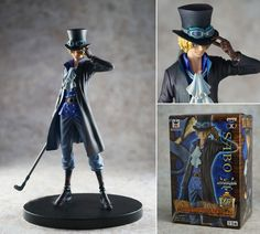 NEW One Piece DXF Sabo Anime Manga boxed figure figurine pose statue
