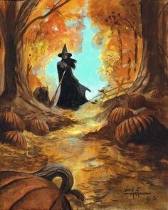 Retro Halloween, Scary Halloween Images, Halloween Kunst, Image Halloween, Halloween Canvas, Halloween Artwork, Halloween Painting, Spooky Scary, Halloween Wallpaper