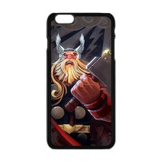 Thor God of The Thunder Cartoon Apple Iphone 6 Plus Case Cover