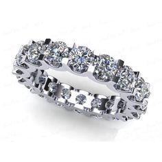 0.80 Karat Memory Diamantring aus 585er Weißgold bei www.juwelierhausabt.de für nur 999.00 Euro bestellen.