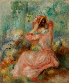 French Impressionist painting