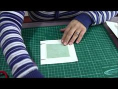 Tutorial video of craftmade teabag scrapbooking