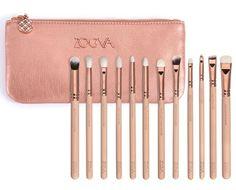 12pcs/set Zoeva rose golden complete eye set precision eyes makeup brushes set…