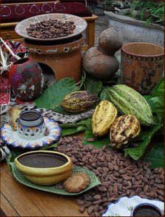 Cocoa / Souh of México .. . Sur de México. Especialmente en los estados de Tabasco y Chiapas, el cacao se produce en grandes cantidades para crear chocolate artesanal. Cerca de la zona arqueológica de Comalcalco, Tabasco, se encuentra el Museo del Cacao. Se pueden visitar las haciendas cacaoteras para conocer el proceso y el cuidado de esta planta.