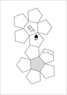 Hexagono, recortable figuras geometricas bidimensionales