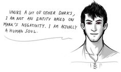 In regards to why King is a little more civilized and courteous than other Darks running around. Credit to yoru-kage on Tumblr!!