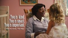 The Help--- Best book I've read in a very long time.