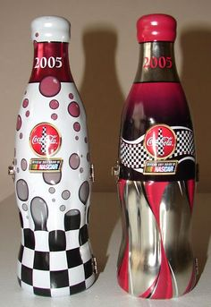2005 Nascar Limited Edition Glass wrapped Coca-Cola US