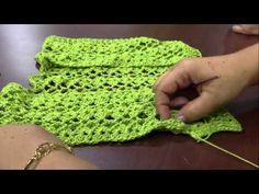 Mulher.com - 11/03/2016 - Colete em crochê - Glaucia Tamiossi PT2 - YouTube