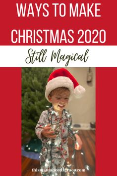 On the blog, I am sharing a few of the things that is making this Christmas (even in the midst of a pandemic) special and memorable! #Christmas2020 #ChristmasToddlerIdeas