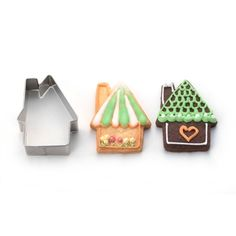 House Cookie Cutter Repinned By: #TheCookieCutterCompany www.cookiecuttercompany.com #house #cookie #design