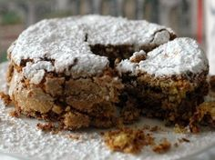 torta di mandorle e pistacchi del ghetto di venezia by cucinadiqb