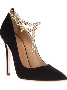 DSQUARED2 Chain Stiletto Pump V www.ScarlettAvery.com