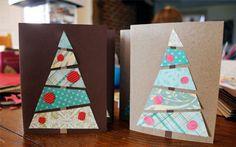 10 идей новогодних открыток своими руками