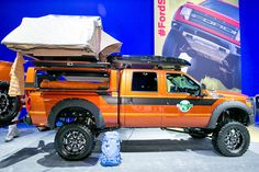 EcoTrek SEMA 2013 | Created by EcoTrek Foundation founder Tom Holm, this Ford F-350 Lariat ...