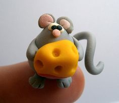 Little Mouse (Topolino) - A little Polymer Clay creation