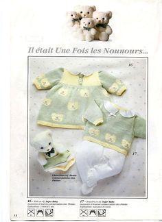 Phildar bébés 0/2 ans Robes
