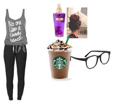 """""""Lazy"""" by dirtydancingbiersack ❤ liked on Polyvore featuring Lija, Victoria's Secret and Larke"""