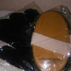 Bath or shower exfoliation glove/brush Still in plastic never used. Hand glove and brush with strap on back for exfoliation. Bought at vs Victoria's Secret Other
