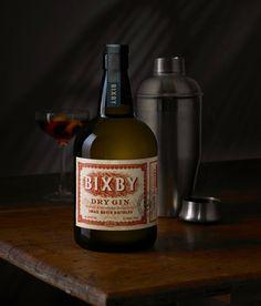 Lloyd Distillery Bixby Gin | Craft Spirits Label Design by Auston Design Group