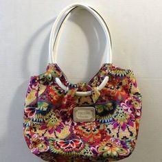 Nicole by Nicole Miller Handbags - Nicole Miller Floral Purse
