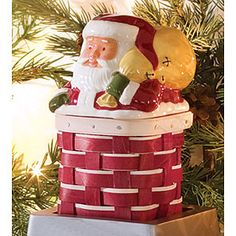 LIMITED time, Santa, Longaberger, baskets, Christmas decorations. Adorable, Affordable.