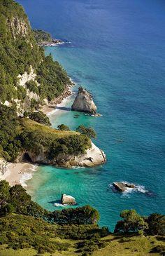 Coromandel Peninsula in New Zealand